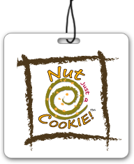 Nut Just a Cookie Logo